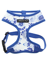 Blue Floral Bouquet Harness - Our Floral Bouquet Harness is a rich contemporary style and the floral pattern is right on trend. It is lightweight and incredibly strong. Designed by Urban Pup to provide the ultimate in comfort, safety and style. It features a breathable material for maximum air circulation that helps prevent your...