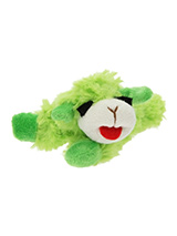 Baa Baa Green Sheep Plush & Squeaky Dog Toy - Most dogs don't like sheep but they sure do love our Baa Baa White Sheep. This toy will provide hours of fun for your pup as he squeaks with every bite. These soft, cute and cuddly toys are designed for your dog to both snuggle with and play with.