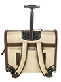 Cream / Brown Travel Carrier